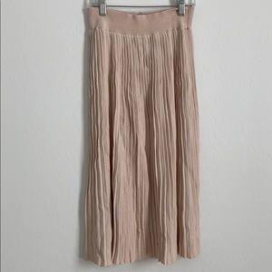 Zara knit midi skirt